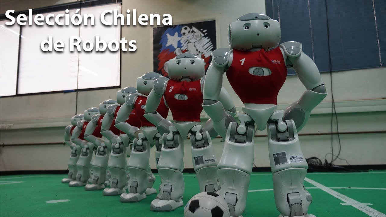 Robots que Juegan Fútbol | @puertodeideas vlog2