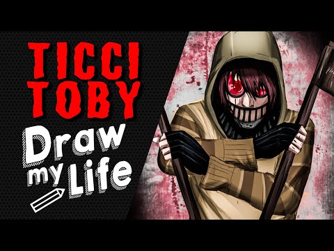 TICCI TOBY ✏️ DRAW MY LIFE CREEPY