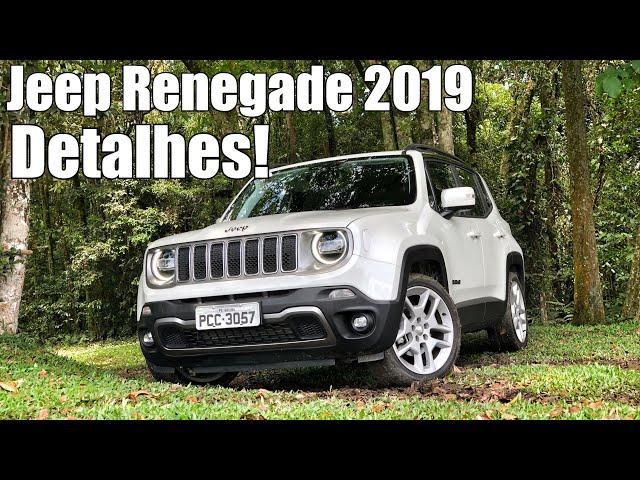Jeep Renegade 2019 Limited Flex em detalhes - Falando de Carro