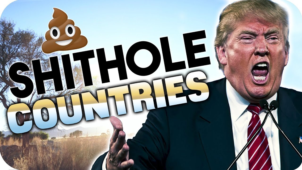 Image result for trump shit hole countries