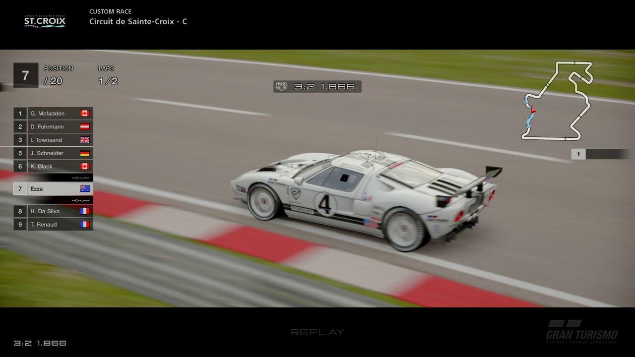 Gt Sport Ford Gt Lm Spec Ii Test Car