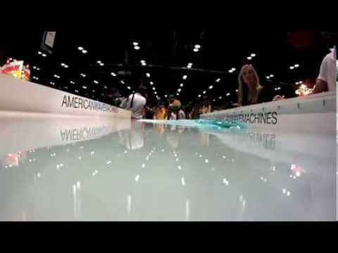 American Wave Machine PerfectSwell technology wave pool model