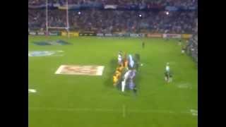 Himno Nacional Pumas vs. Australia, Octubre 2012