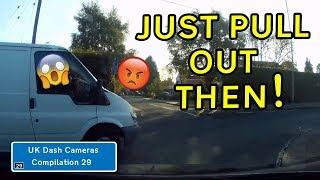 Uk Dash Cameras - Compilation 29 - 2019 Bad Drivers Crashes  Close Calls