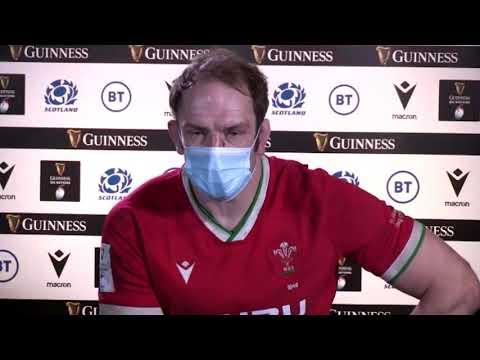Scotland 24-25 Wales - Alun Wyn Jones - Post-Match Press Conference