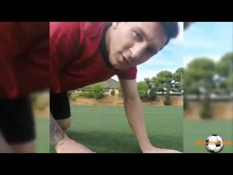 Лионель Месси попал в камеру со 100 метров! Вот это точный удар!!!