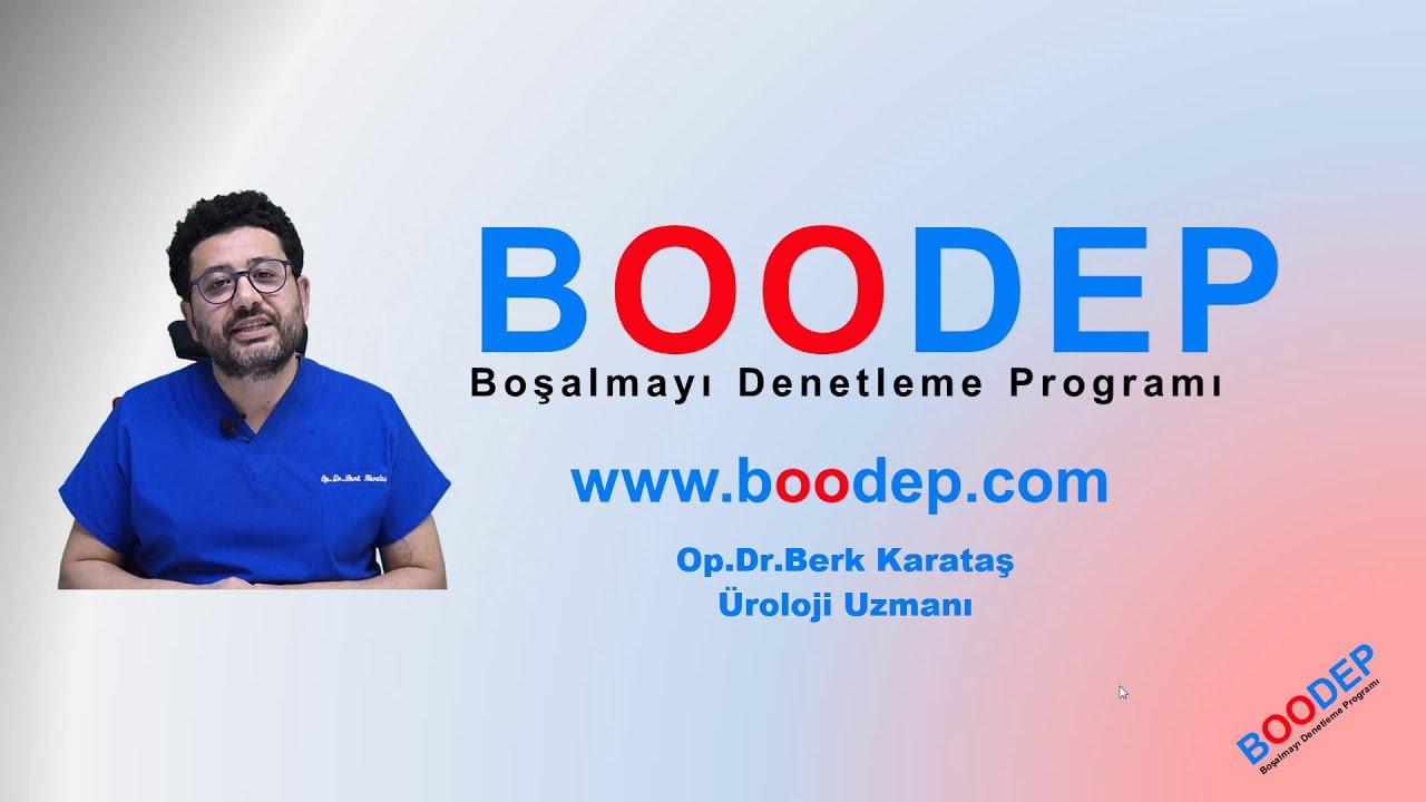 Erken Boşalma İçin Uzaktan Eğitim Programı  , BOODEP  ( Boşalmayı Denetleme Programı )