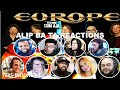 ALIP BA TA REACTORS REACTION COMPILATION | CARRIE by EUROPE fingerstyle cover