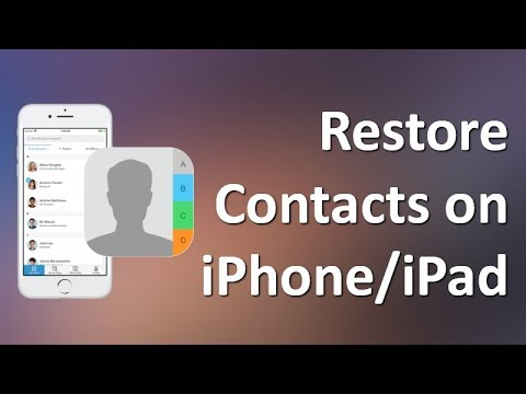 how to find deleted contacts on iphone iphone contacts disappeared how to restore contacts on 20045