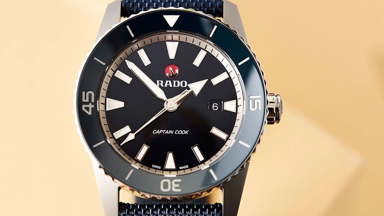Voyage of discovery? The New Rado Captain Cook Collection ...