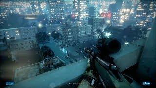 "Battlefield 3 Special Ops Sniper Mission 4K ULTRA GRAPHICS ""Night Shift"""