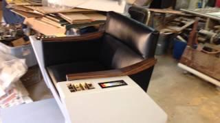 Star Trek Captains Chair Video 5