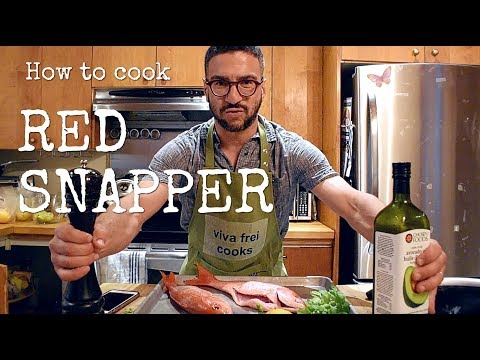 RED SNAPPER!!! VERY TASTY!!! [COOKING VLOG]