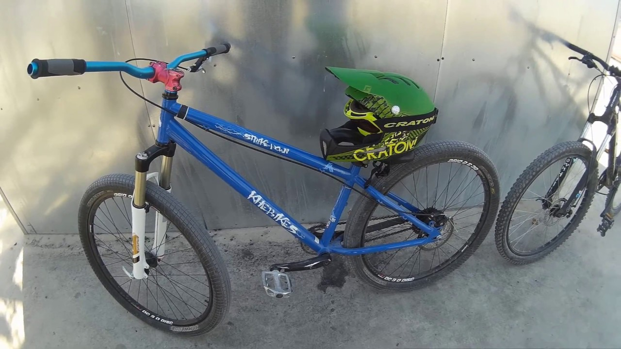 Yeni Bisiklet Aldık Dirt Jump Youtube