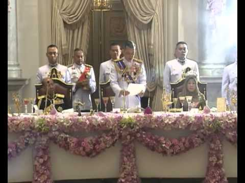 State Banquet for the Malaysian King  in Bangkok