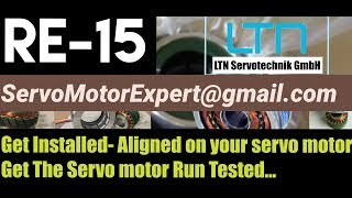 Align Adjust Install LTN RE-15, RE15, RE 15 Resolver on Servo motor India/ UAE