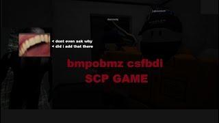 bmpobmz csfbdi scp juego (Roblox)