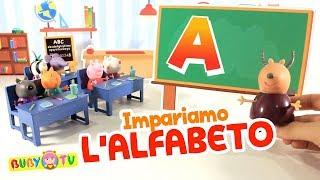 Prime parole per bambini 🙂 🍎 🍬 Impara l'alfabeto ABC per bambini