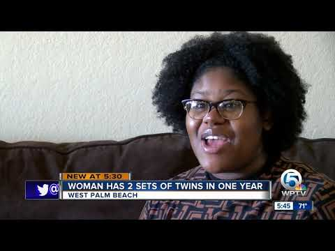 Robin Rock - Two sets of twins in a year. HOW is this mom keeping up?