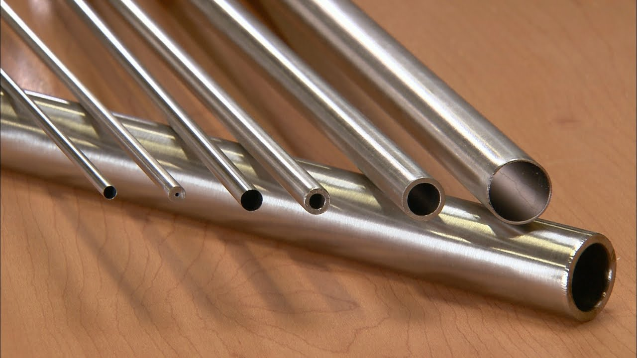 Seamless Stainless Steel Tubes | How It's Made - YouTube