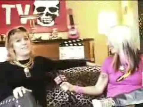 Donita Sparks @ Rock N' Roll TV (part 1)
