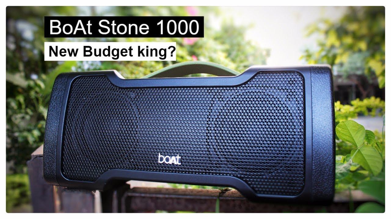 New King Of Budget Speakers   BoAt Stone 1000 Bluetooth Speaker