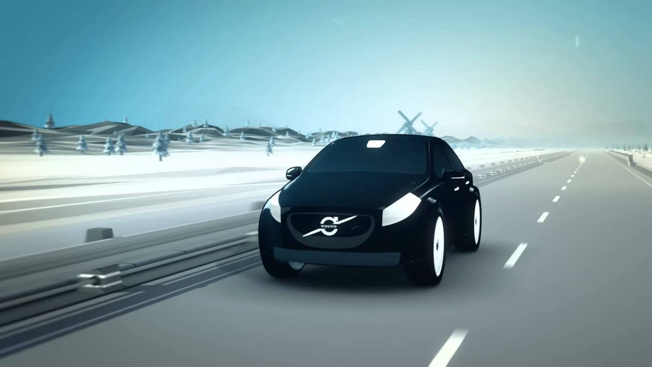 volvo cars innovations car 2 car communication youtube