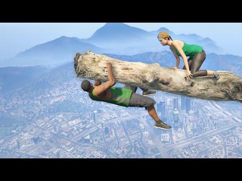 GTA 5 Epic ragdolls episode 103 [Funny Moments]