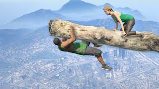 GTA 5 Epic ragdolls episode 103 [Funny Moments | Euphoria physics]