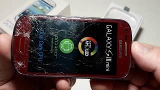 Ремонт і відновлення телефону Samsung Galaxy S III mini I8190 . Частина 1