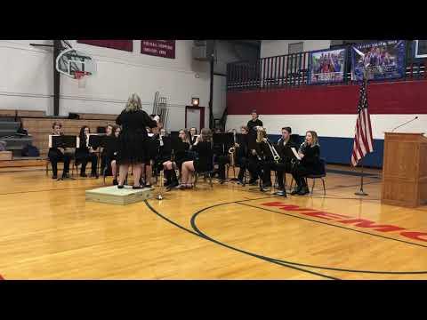 Rich Hill High School Band Veterans Day 2018