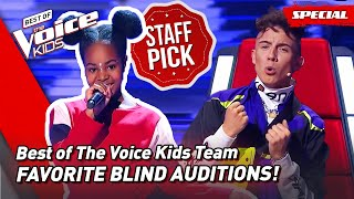 The Favorite Blind Auditions of Best of The Voice Kids Team! ❤️