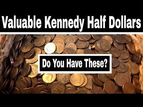 Valuable Kennedy Half Dollars To Look For - Clad Half Dollar Coins