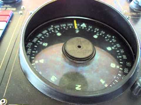 Video gyro compass RMV