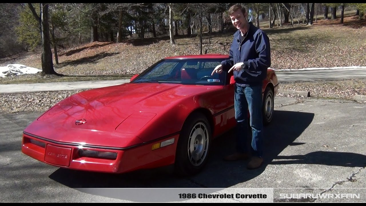 One Stop Auto Sales >> Review: 1986 Chevrolet Corvette - YouTube