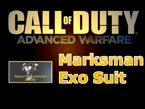 Marksman mastery call of duty advanced warfare cod aw youtube