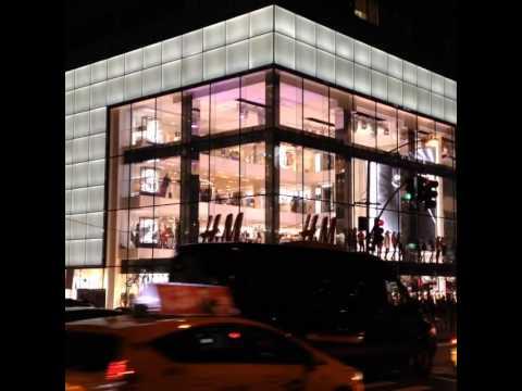 h m flagship store 5th avenue youtube. Black Bedroom Furniture Sets. Home Design Ideas