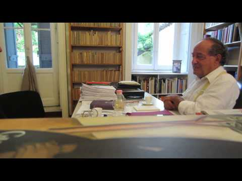 Interview with Roberto Calasso - Milan Sept 11th