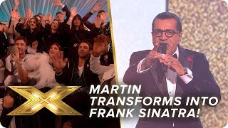 Martin Bashir transforms into Frank Sinatra with 'That's Life'!   Live Week 3   X Factor: Celebrity