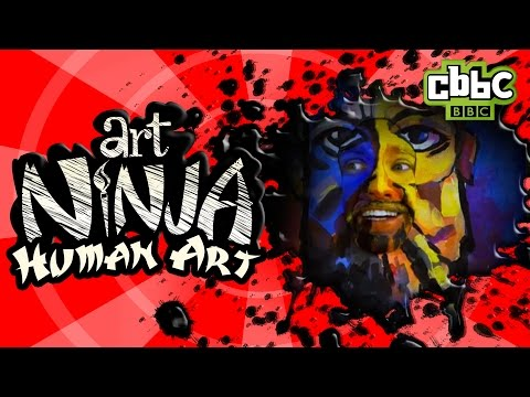 CBBC: Art Ninja - Art Gallery Prank