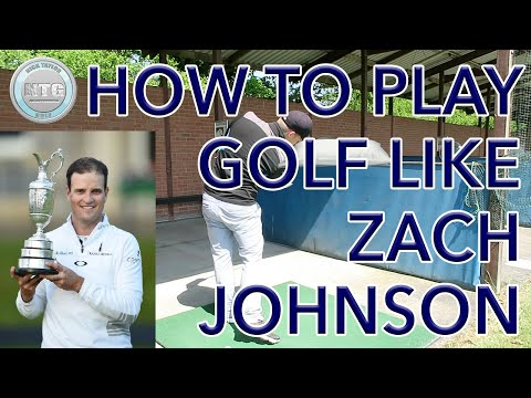 HOW TO PLAY GOLF LIKE ZACH JOHNSON | GOLF TIPS | LESSON 6