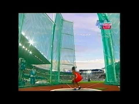 Hammer Throw Womens Final IAAF World Championships 2005 Helsinki