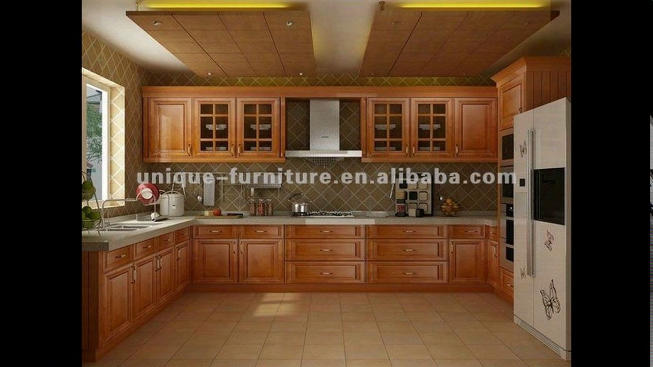 Kitchen hanging cabinet designs pictures youtube for Kitchen cabinet design for small kitchen