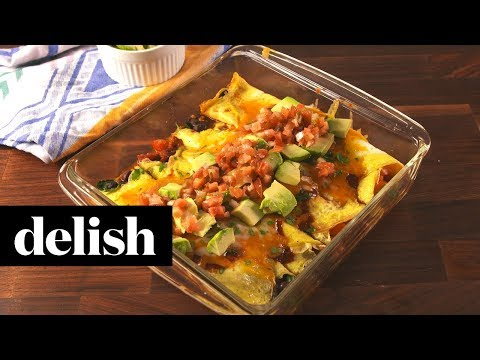 How to Make Low-Carb Breakfast Enchiladas | Recipe | Delish