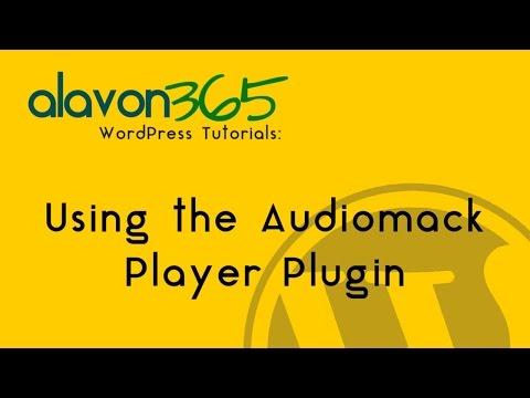 WordPress Tutorial: How to Set up the Audiomack Plugin