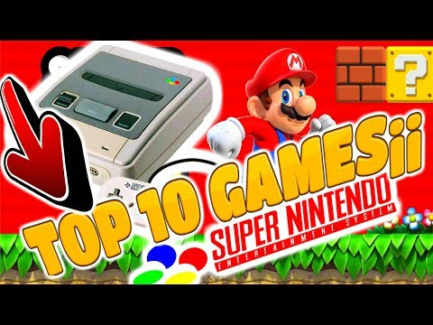 👉 SNES (Super Nintendo) TOP 10 games  ► 😍 What are your favorite SNES games? 😍