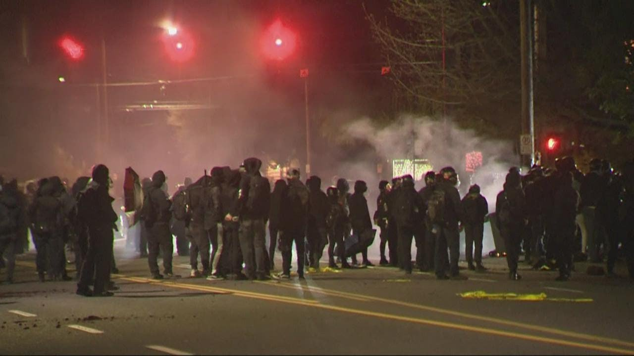 Protests in Portland in response to Daunte Wright shooting; police declare riot