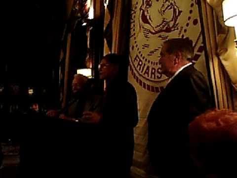 Larry Storch 2008 Friar's Club for Drew Friedman
