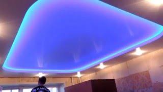 Игра света  натяжные потолки http://art-montazh.ru(, 2015-10-26T15:42:21.000Z)