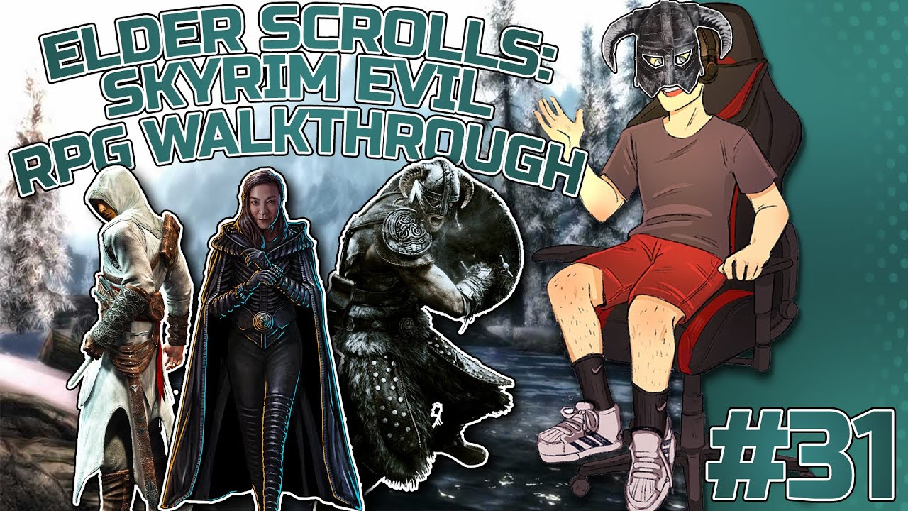 Elder Scrolls: Skyrim Evil RPG Let's play #31 (Females think they can get away with anything SMH)